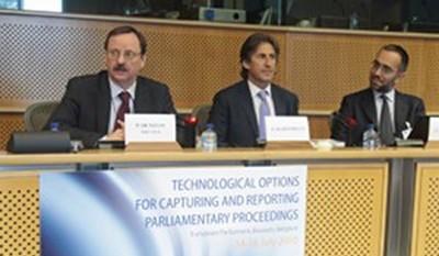 SténoMédia représente Intersténo au parlement européen