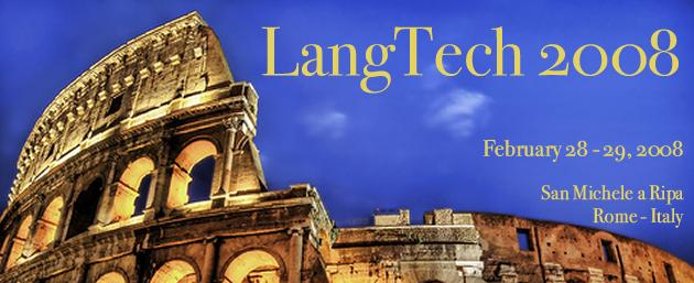 Intersténo à LangTech 2008, par Gian Paolo Trivulzio, Président d'Intersténo